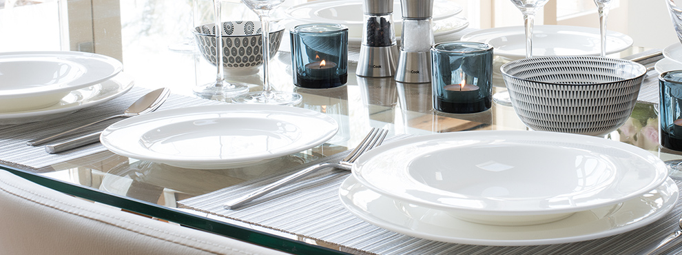 Tableware & Tableware - glassware table linen cutlery and stemware - ProCook UK