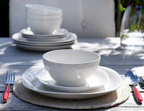 Stoneware & Tableware - glassware table linen cutlery and stemware - ProCook UK