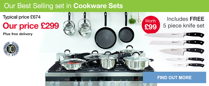 Cookware Sets Stainless Steel And Non Stick Pots And